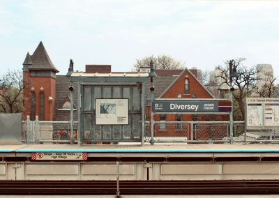 Diversey Brown Line Station
