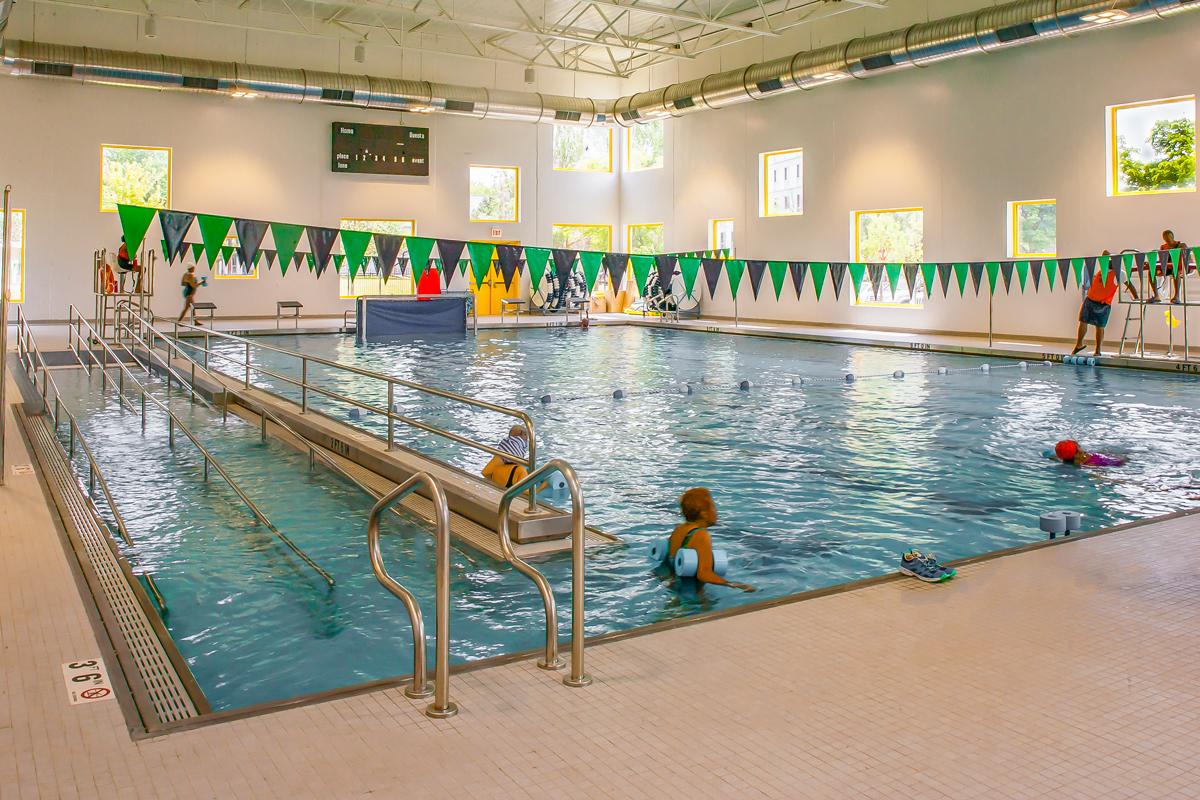 Pool at Ellis Park Bronzeville Design
