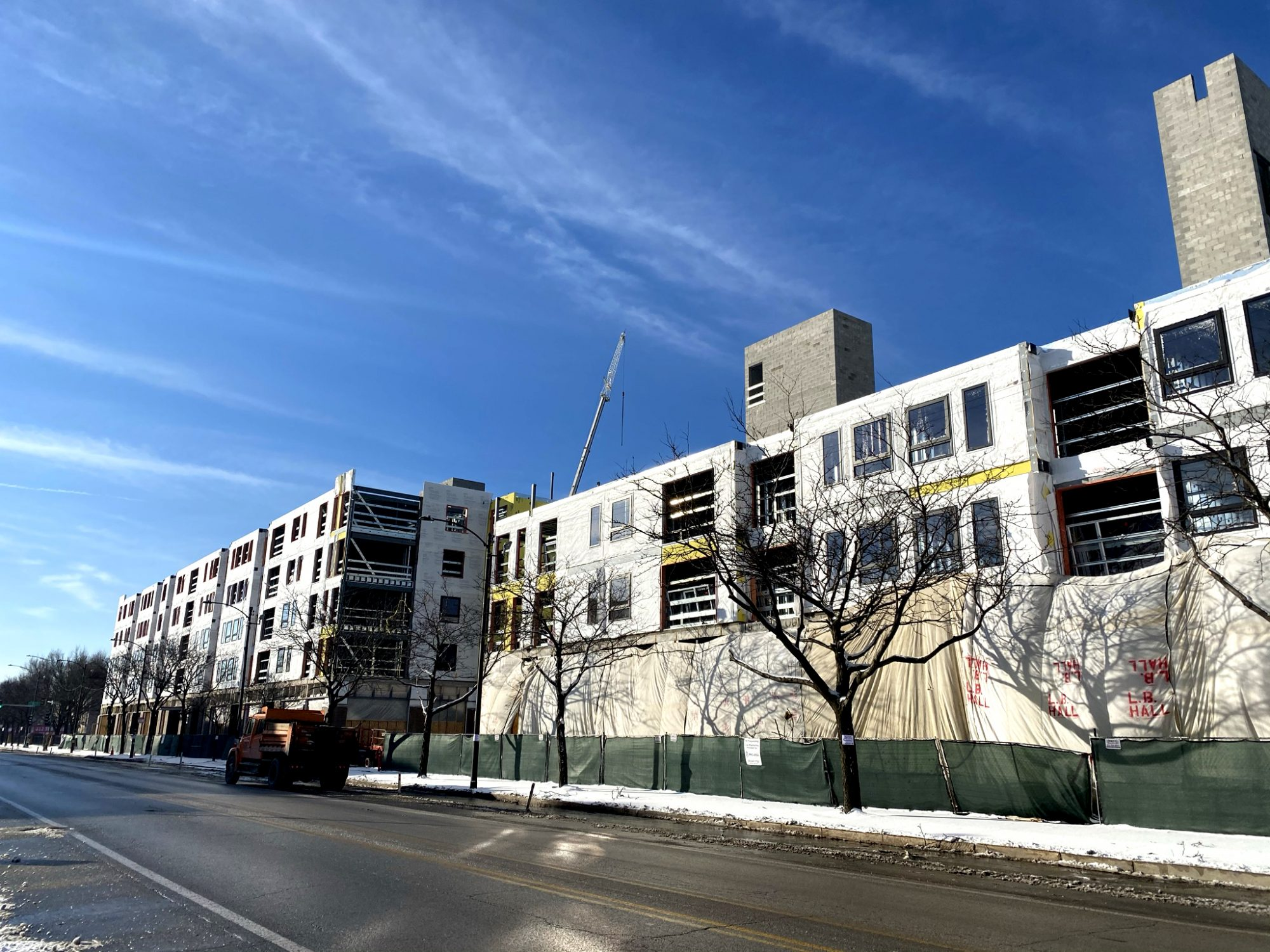 southbridge affordable housing south loop harold ickes construction